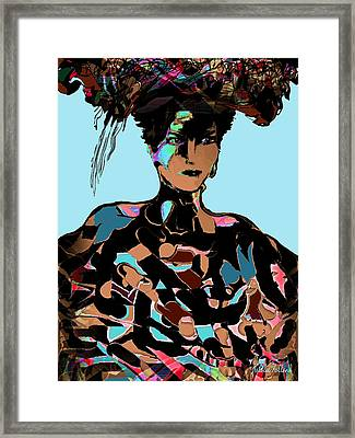 Sophisticated Woman Framed Print by Natalie Holland