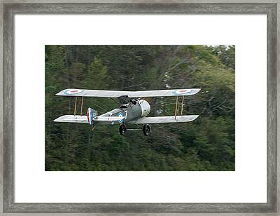 Sopwith 1 1/2 Stutter Takes To The Sky Framed Print by Liza Eckardt