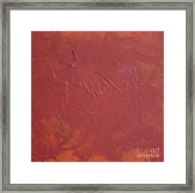 Sorbet Canvas Framed Print