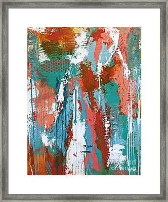 Sorbet Framed Print by Mary Mirabal