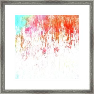 Sorbet Summer Framed Print