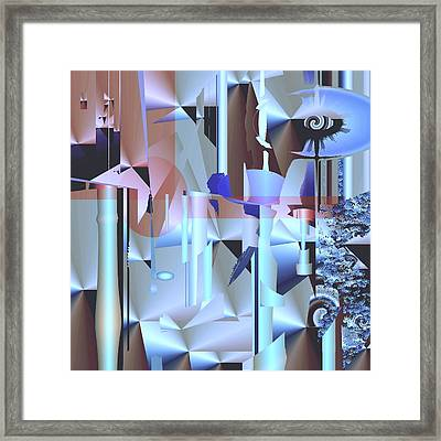 Sorbitol Framed Print by Elsbeth Lane