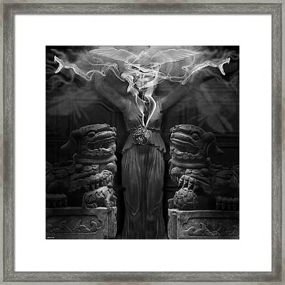Sorceress Framed Print by Larry Butterworth