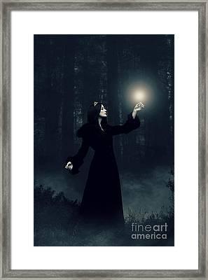 Sorcery Framed Print by Clayton Bastiani