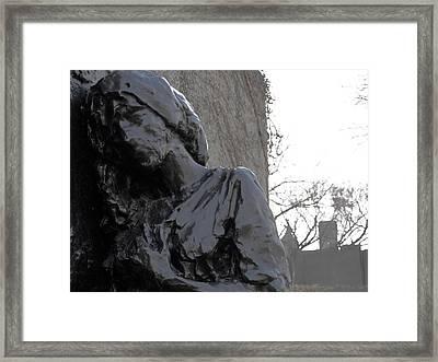 Sorrow Framed Print by Adam Schwartz