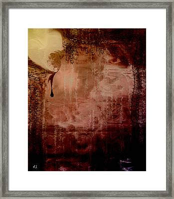 Sorrow Framed Print by Linda Sannuti
