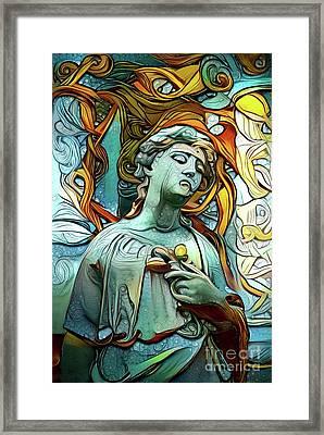 Sorrowful Angel 1 Framed Print
