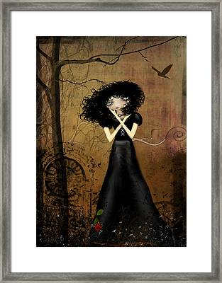 Sorry Framed Print by Charlene Zatloukal