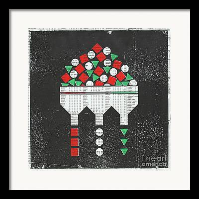 Automated Mixed Media Framed Prints