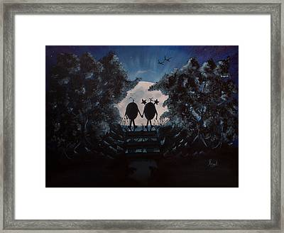 Soul Angels - Dream Framed Print