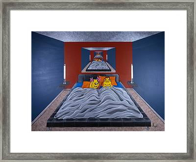 Soul Angels - Too Excited To Sleep Framed Print