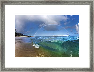 Soul Arch Framed Print by Sean Davey