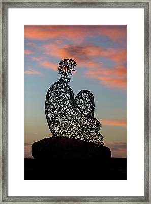 Soul At Sunset Framed Print