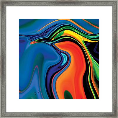 Soul Bird 2 Framed Print by Rabi Khan