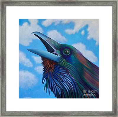 Soul Call Framed Print by Brian  Commerford