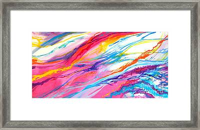 Soul Escaping Framed Print by Expressionistart studio Priscilla Batzell