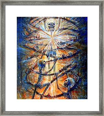 Framed Print featuring the painting Soul Evolution by Heather Calderon