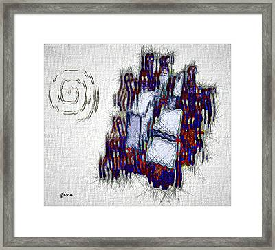 Soul Flight Framed Print by Gina Seymour