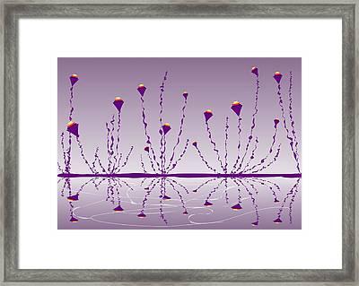 Soul Flowers Framed Print
