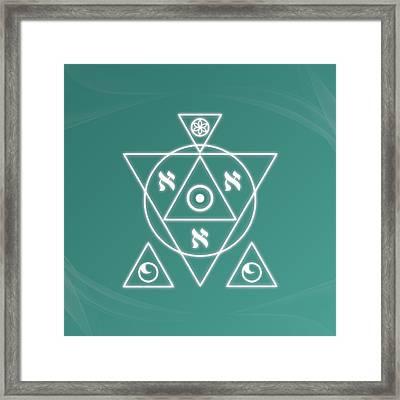 Soul Healing Framed Print