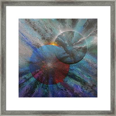 Soul Mates #7 Framed Print by David Copson