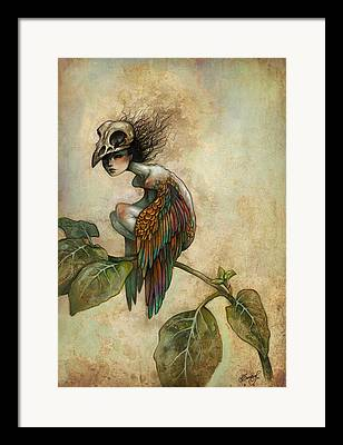 Macabre Framed Prints