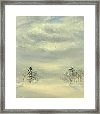 Soul Of Winter Framed Print by Deserie Waryck