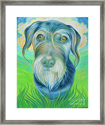 Soul Portrait Of Digby Framed Print