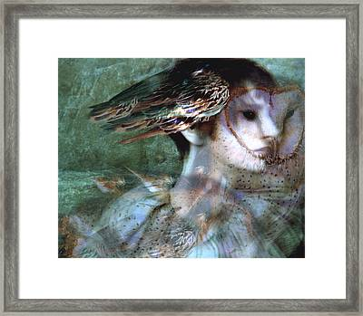 Framed Print featuring the painting Soul Portrait by Ragen Mendenhall