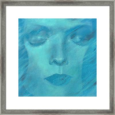 Framed Print featuring the painting Soul  by Ragen Mendenhall