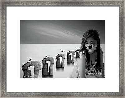 Soul Searching Framed Print