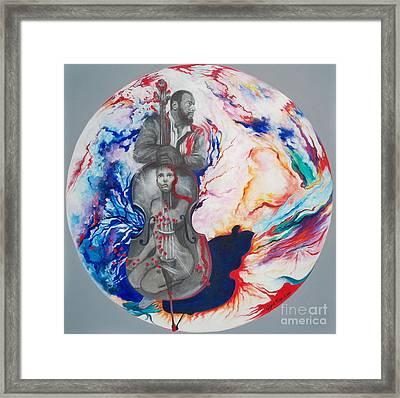 Blaa Kattproduksjoner             Soul Seduction Framed Print