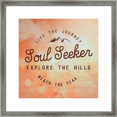 Soul Seeker 1 Framed Print
