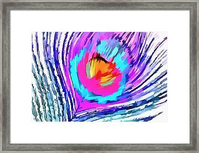 Soul Set Free Framed Print by Krissy Katsimbras