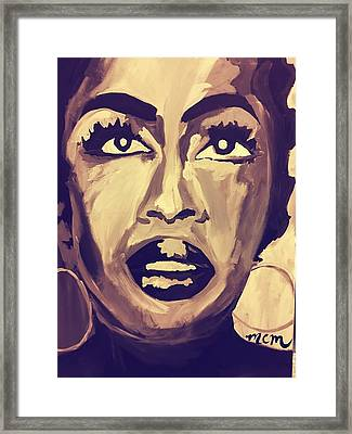 Soul Sister  Framed Print by Miriam Moran