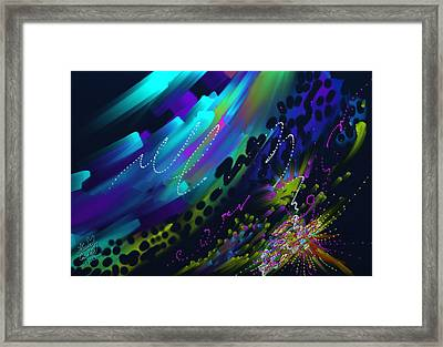 Soul So Blue Framed Print
