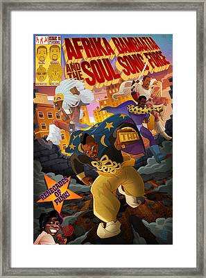 Soul Sonic Force Framed Print