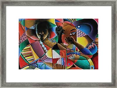 Soul Framed Print by Stacy V McClain