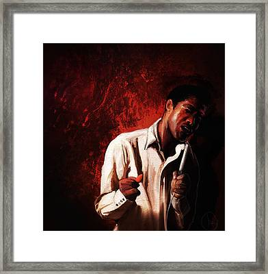 Soul Stirrer Framed Print