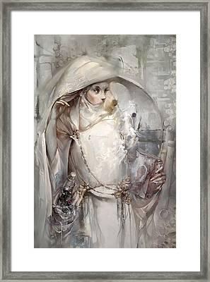 Soul Framed Print by Te Hu