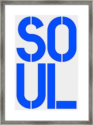 Soul Framed Print