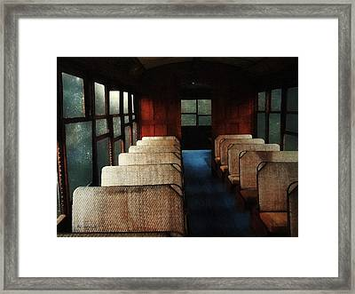 Soul Train Framed Print