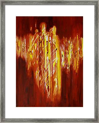 Soul Train Framed Print