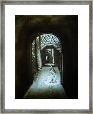Soul Transition Framed Print by Elena Vedernikova