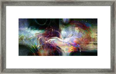 Soul Vibes Framed Print by Linda Sannuti