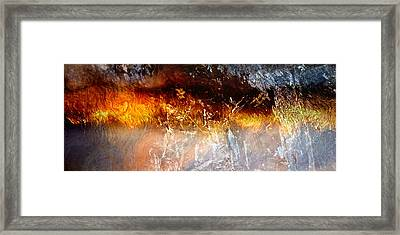 Soul Wave - Abstract Art Framed Print by Jaison Cianelli
