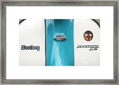 Soulboy Framed Print