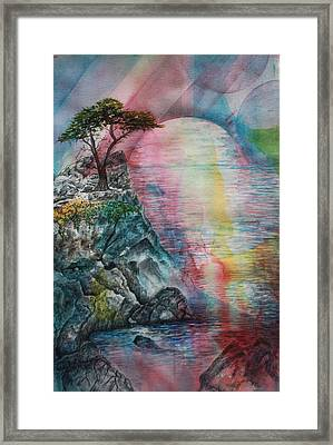 Soulmates Framed Print by Patsy Sharpe