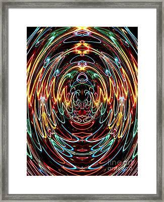 Souls Ascending Into Heaven Framed Print by Rose Santuci-Sofranko