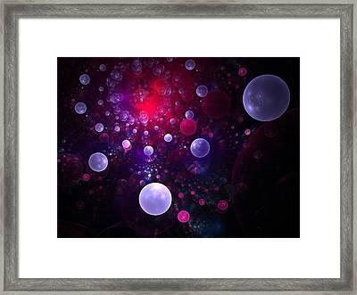 Souls Ascending Framed Print by Lyle Hatch
